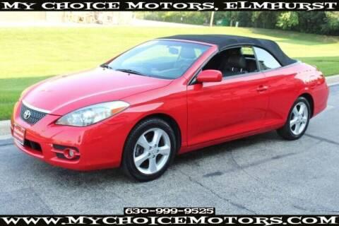 2008 Toyota Camry Solara for sale at My Choice Motors Elmhurst in Elmhurst IL