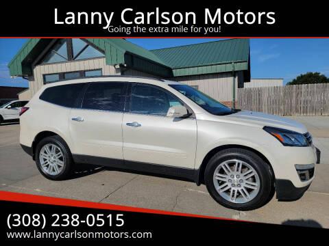 2015 Chevrolet Traverse for sale at Lanny Carlson Motors in Kearney NE