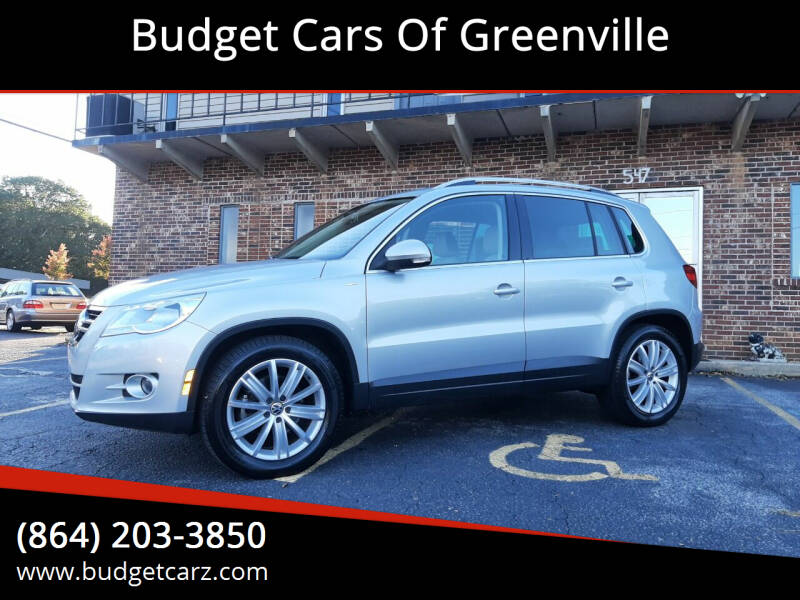 2010 Volkswagen Tiguan for sale at Budget Cars Of Greenville in Greenville SC