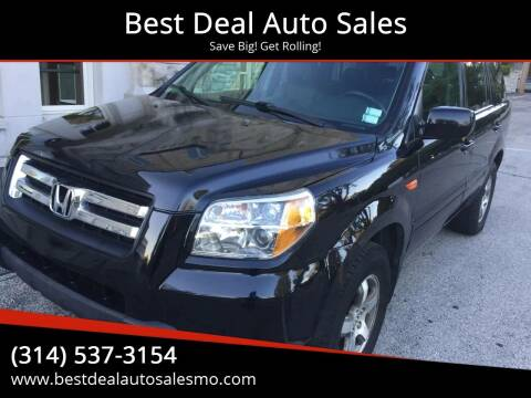 2006 Honda Pilot for sale at Best Deal Auto Sales in Saint Charles MO