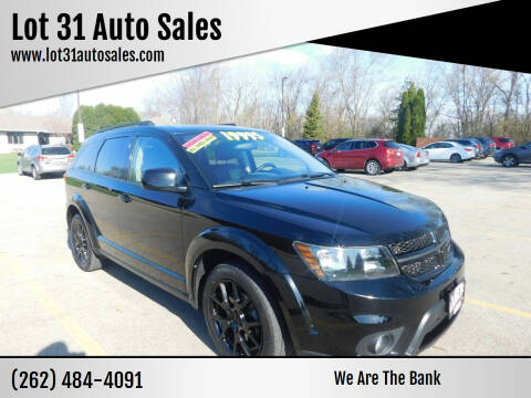 2016 Dodge Journey for sale at Lot 31 Auto Sales in Kenosha WI