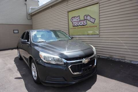 2015 Chevrolet Malibu for sale at Cars Trucks & More in Howell MI