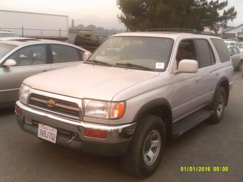 1997 Toyota 4Runner for sale at Mendocino Auto Auction in Ukiah CA