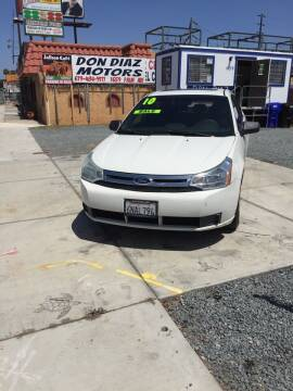 2010 Ford Focus for sale at DON DIAZ MOTORS in San Diego CA