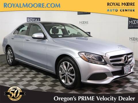 2015 Mercedes-Benz C-Class for sale at Royal Moore Custom Finance in Hillsboro OR