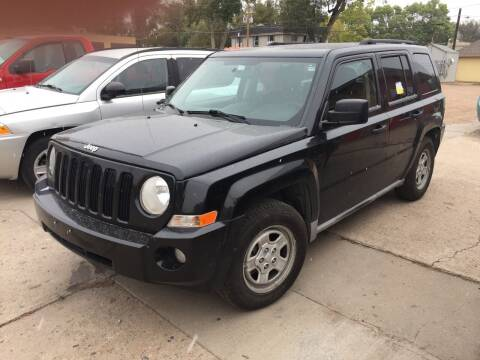 2010 Jeep Patriot for sale at PYRAMID MOTORS AUTO SALES in Florence CO