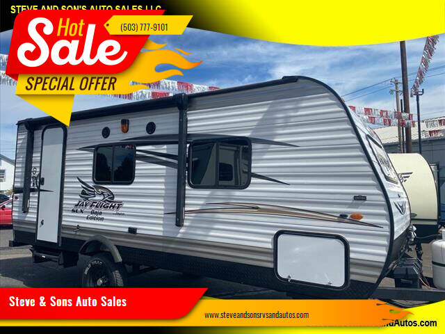 2017 Jayco Jay Flight for sale at Steve & Sons Auto Sales in Happy Valley OR