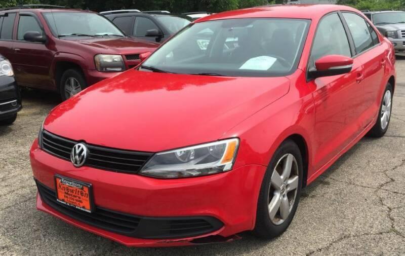 2012 Volkswagen Jetta for sale at Knowlton Motors, Inc. in Freeport IL
