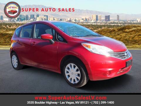 2016 Nissan Versa Note for sale at Super Auto Sales in Las Vegas NV