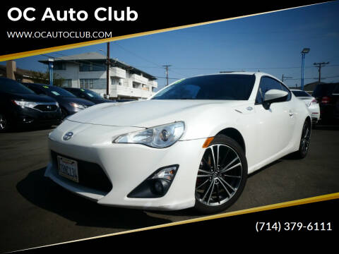 2013 Scion FR-S for sale at OC Auto Club in Midway City CA