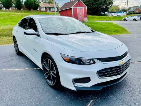 2016 Chevrolet Malibu for sale at ANZ AUTO CONCEPTS LLC in Fredericksburg VA