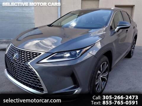 2020 Lexus RX 350 for sale at Selective Motor Cars in Miami FL