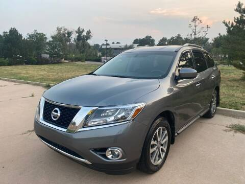 2016 Nissan Pathfinder for sale at QUEST MOTORS in Englewood CO