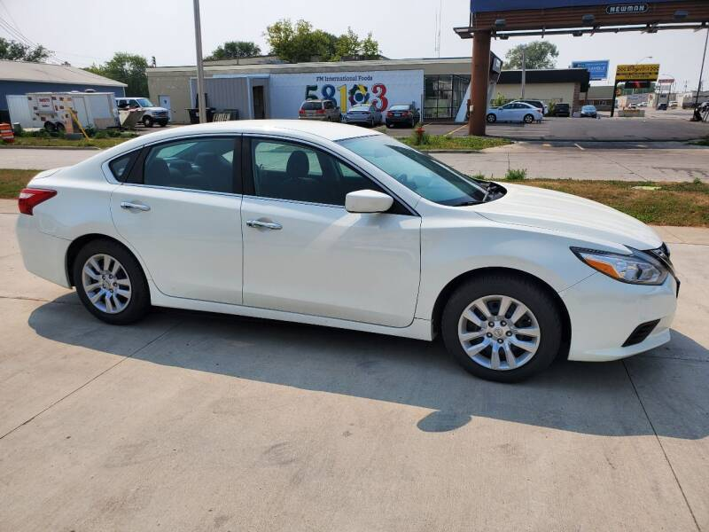 2017 Nissan Altima for sale at GOOD NEWS AUTO SALES in Fargo ND