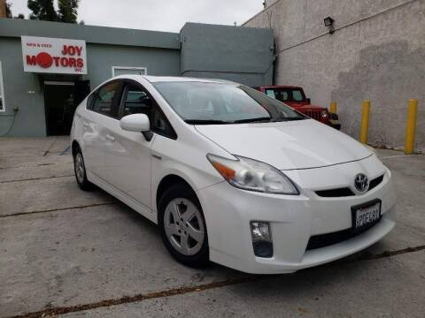 2010 Toyota Prius for sale at Joy Motors in Los Angeles CA