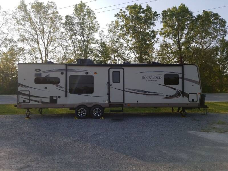 2015 Rockwood Travel Trailer 8310SS for sale at Pierce Automotive, Inc. in Antwerp OH