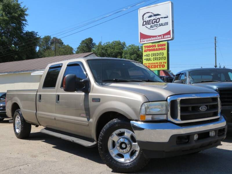 2003 Ford F-250 Super Duty for sale at Diego Auto Sales #1 in Gainesville GA