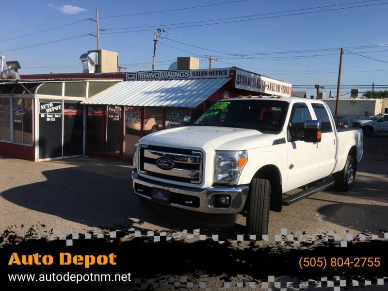 2016 Ford F-250 Super Duty for sale at Auto Depot in Albuquerque NM