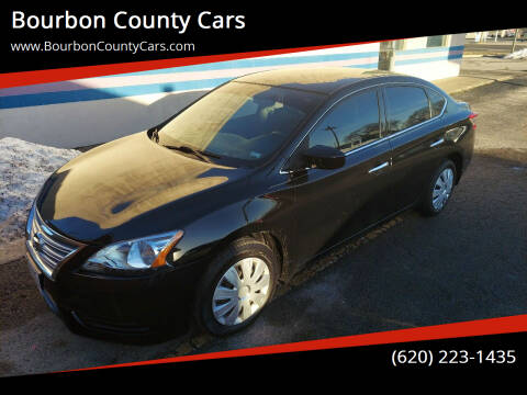 2015 Nissan Sentra for sale at Bourbon County Cars in Fort Scott KS