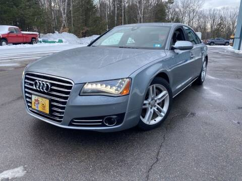 2013 Audi A8 for sale at Granite Auto Sales in Spofford NH