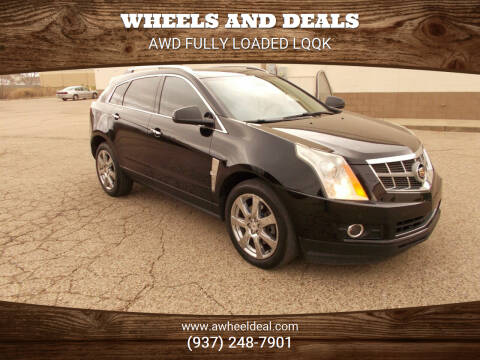 2010 Cadillac SRX for sale at Wheels and Deals in New Lebanon OH