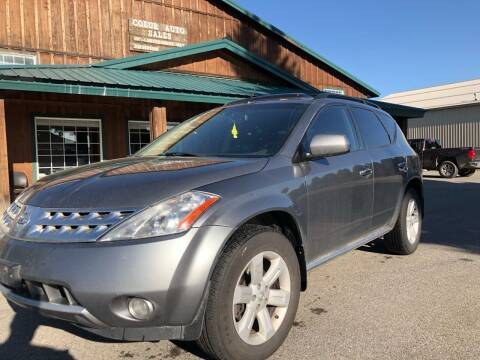 2006 Nissan Murano for sale at Coeur Auto Sales in Hayden ID