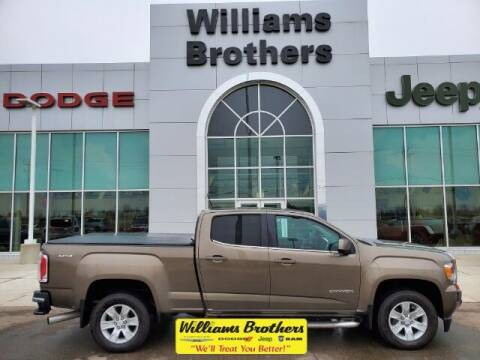 2016 GMC Canyon for sale at Williams Brothers - Pre-Owned Monroe in Monroe MI