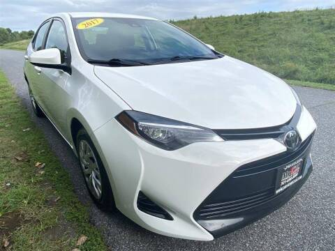 2017 Toyota Corolla for sale at Mr. Car City in Brentwood MD