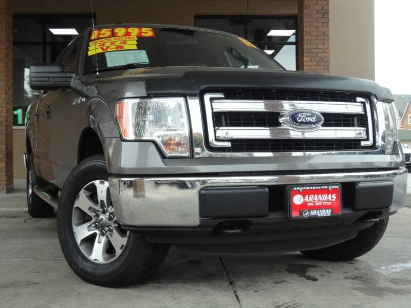 2013 Ford F-150 for sale at Arandas Auto Sales in Milwaukee WI