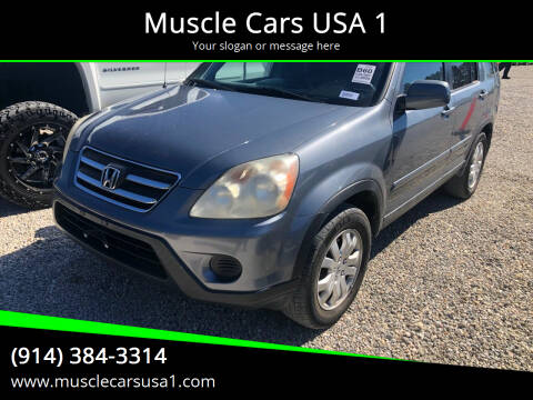 2005 Honda CR-V for sale at Muscle Cars USA 1 in Murrells Inlet SC