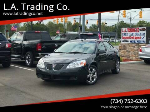 2008 Pontiac G6 for sale at L.A. Trading Co. Woodhaven in Woodhaven MI