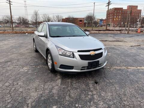2014 Chevrolet Cruze for sale at CarrBine Auto Sales in Ashtabula OH