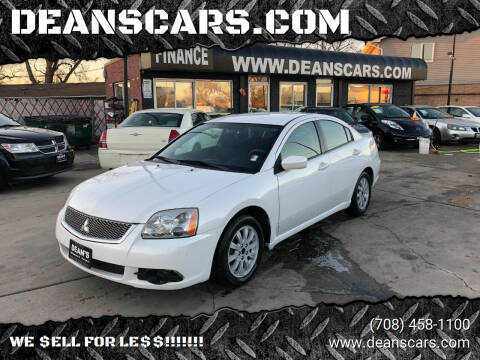 2012 Mitsubishi Galant for sale at DEANSCARS.COM in Bridgeview IL