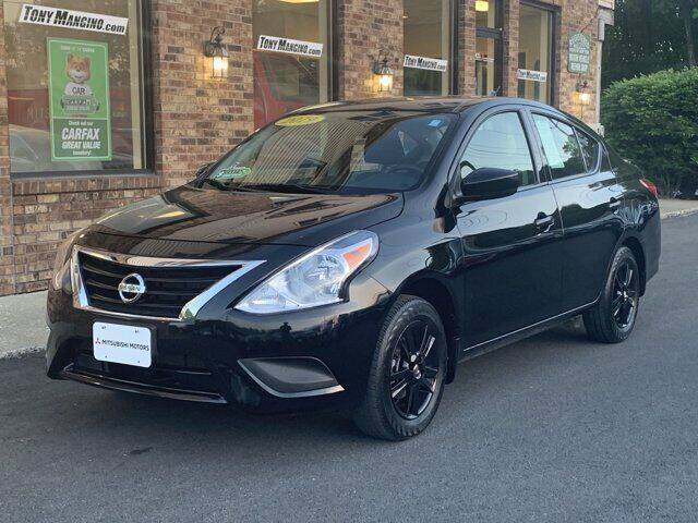 2019 Nissan Versa for sale at The King of Credit in Clifton Park NY