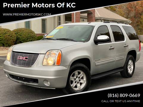 2010 GMC Yukon for sale at Premier Motors of KC in Kansas City MO