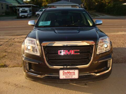 2017 GMC Terrain for sale at DeMers Auto Sales in Winner SD