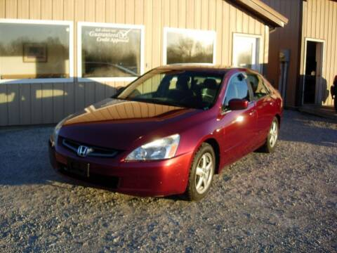 2003 Honda Accord for sale at Greg Vallett Auto Sales in Steeleville IL