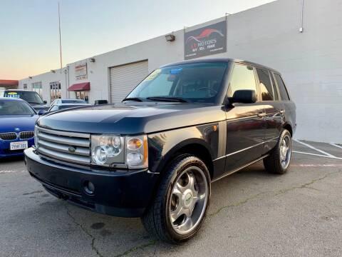 2004 Land Rover Range Rover for sale at LT Motors in Rancho Cordova CA