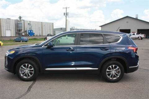 2019 Hyundai Santa Fe for sale at SCHMITZ MOTOR CO INC in Perham MN