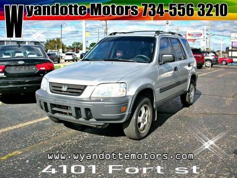 1997 Honda CR-V for sale at Wyandotte Motors in Wyandotte MI