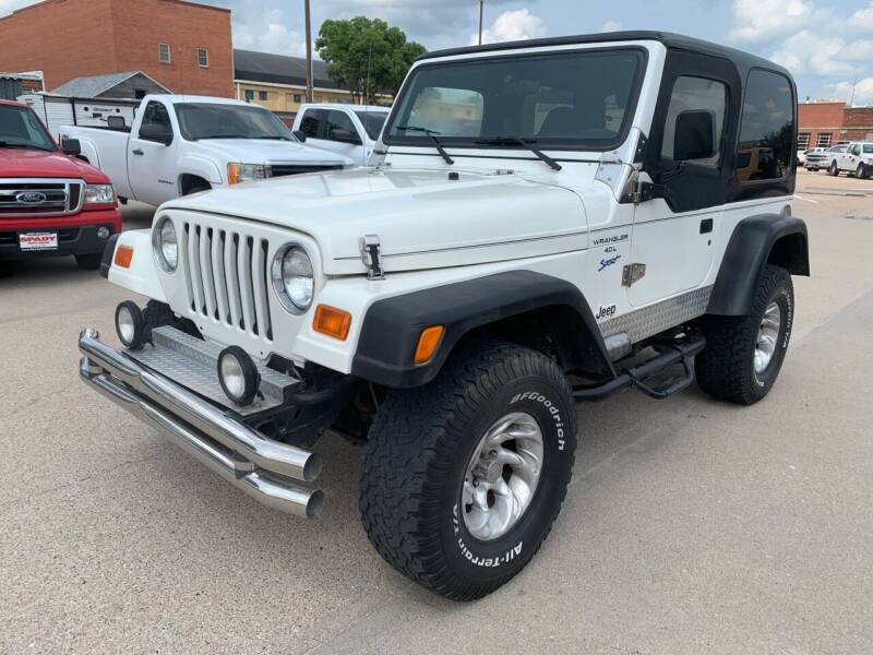 1997 Jeep Wrangler for sale at Spady Used Cars in Holdrege NE