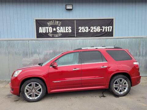 2012 GMC Acadia for sale at Austin's Auto Sales in Edgewood WA