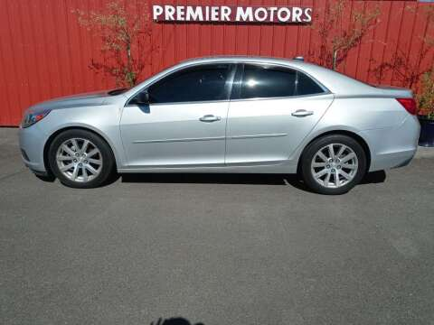 2014 Chevrolet Malibu for sale at PREMIERMOTORS  INC. in Milton Freewater OR