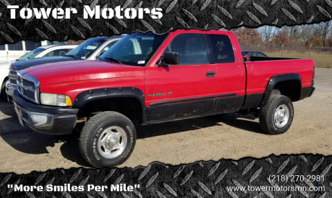 2001 Dodge Ram Pickup 2500 for sale at Tower Motors in Brainerd MN
