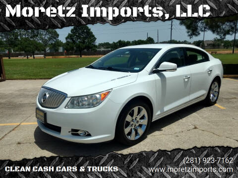 2010 Buick LaCrosse for sale at Moretz Imports, LLC in Spring TX
