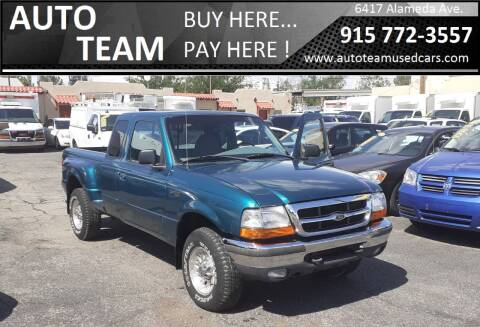 1998 Ford Ranger for sale at AUTO TEAM in El Paso TX
