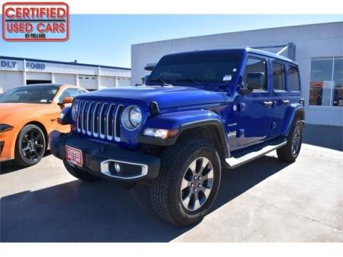 2019 Jeep Wrangler Unlimited for sale at South Plains Autoplex by RANDY BUCHANAN in Lubbock TX