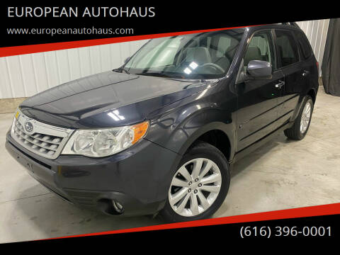 2011 Subaru Forester for sale at EUROPEAN AUTOHAUS in Holland MI