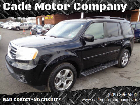2013 Honda Pilot for sale at Cade Motor Company in Lawrenceville NJ
