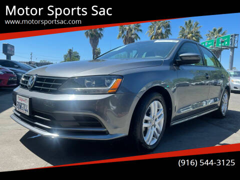 2018 Volkswagen Jetta for sale at Motor Sports Sac in Sacramento CA